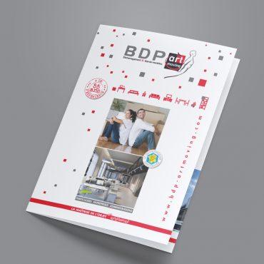 Flyer plaquette bdp