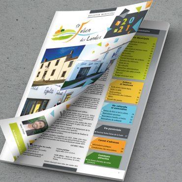 Bulletin municipal de St Julien des Landes - 2021