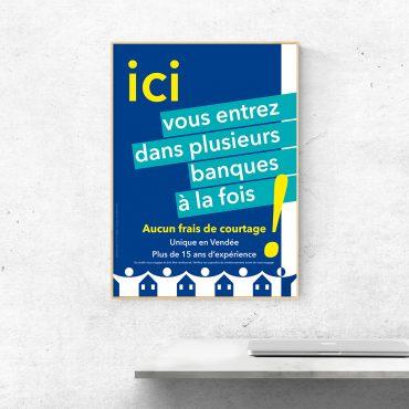 Affiche Crédit Royal de France